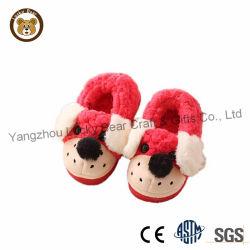 Fabriqué en Chine mignon chien en peluche Animal Toy pantoufles