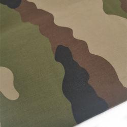 Tc 65/35 32*32 130*70 Exército impressas três Proofings tecido uniforme para o vestuário