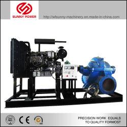 Dieselmotor angetriebene Minenpumpe für Wasserabfluss, Abfluss 1250m3/h, Druckleistung 6,5bars