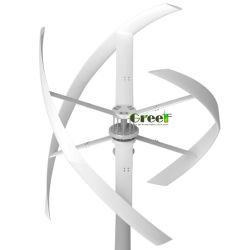 Mittellinien-Wind-Turbine der gewerblichen Nutzungs-5kw vertikale mit Dreiphasen-Wechselstrom-äußerem Rotorfläche Coreless direkter Antrieb-Dauermagnetgenerator
