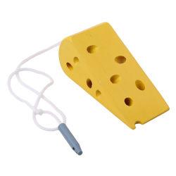 L'éducation en bois bébé Jouet de fromage de filetage de la souris de la maternelle au début de l'apprentissage de l'éducation des jouets