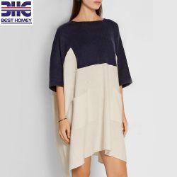 Pure Cashmere surdimensionné de tricot Womens Pull Pull Batwing manchon Plus Size robes