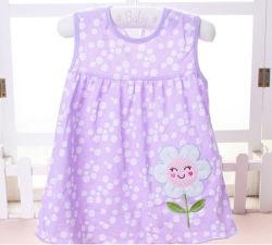 Verano 2018 ropa de niños vestidos de niña bebé de algodón suave