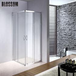 كلاسيكيّة مربّعة ألومنيوم إطار زجاجيّة [سليد دوور] وابل مقصور غرفة حمّام