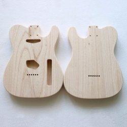 2 кусок дерева золы незавершенной теле электрическая гитара Органа