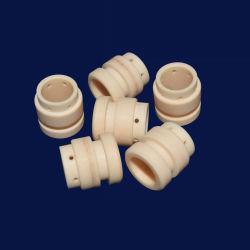Fodera di ceramica del manicotto della boccola dell'allumina Anti-Abrasiva ad alta pressione di Zirconia Al2O3 per l'asta cilindrica della pompa