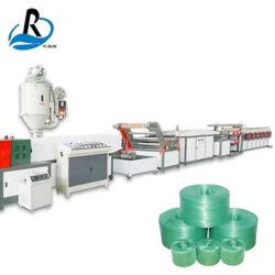 Máquina de extrusión PP Rafia de polipropileno PE película dividida la línea de producción de hilo de fibra para la fabricación de maquinaria agrícola cuerda Cuerdas