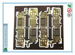 8 carte de circuit imprimé de la couche d'immersion HDI avec carte mère de l'or pour téléphone mobile