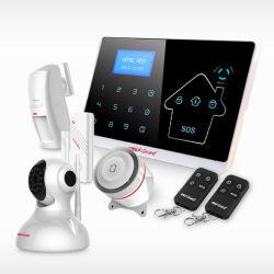 Uso Personal Wolfguard GSM de alarma inteligente sistema de seguridad de la RTPC alarma auto alarma del sistema de protección antirrobo