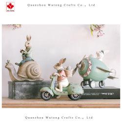 Figurine en résine personnalisé Lapin de Pâques