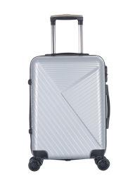 판매 여행 스타일 트롤리 백 ABS 하드쉘 경량 휴대 홍보 여행 가방 위에 - Xha193
