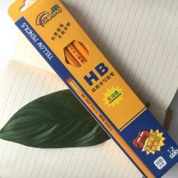 HB 노란색 연필 고급 어린이 노란색 막대 고무 머리 글쓰기 편지지 연필 동공 상 선물 페인팅