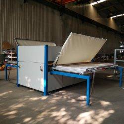 La transferencia de Papel Madera veteada máquina laminadora de acero alumbre la textura de plomo de la puerta de la carcasa del bastidor de perfiles de moldura