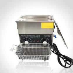 Pulitore ultrasonico teso con il coperchio, cavo di alimentazione/riscaldamento Tsx-120t