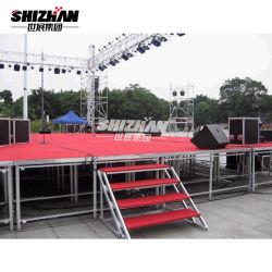 販売のためのアルミニウム移動式コンサートのイベントの安い携帯用段階