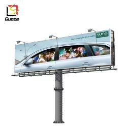 Fabricante de electrónica de Billboard gira publicidad signo Billboard de la caja de luz solar mini vallas publicitarias Vallas publicitarias