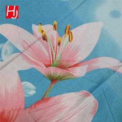 100 Pongées Tecido de forro de poliéster para Bedsheet tecido impresso Personalizado