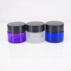 다양한 색상의 화장품 크림 용기 플라스틱 용기