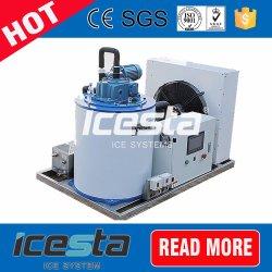 Alta efficace grande macchina di ghiaccio evaporativa del fiocco dell'acqua di mare che fa il ghiaccio del fiocco