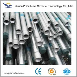 Laminados a quente galvanizada resíduos explosivos de tubos de aço soldados fabricados na China