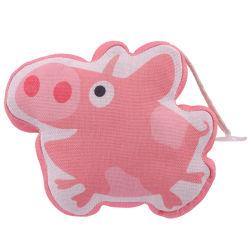 만화 기능적인 장난감 리넨에 의하여 채워지는 돼지 펀던트 견면 벨벳 장난감