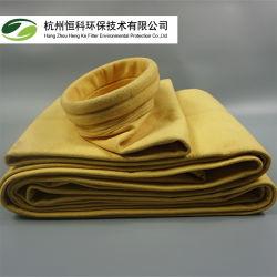 Resistente ao Calor Nonwoven P84 Feltro de agulha de bolso de pó saco de filtro