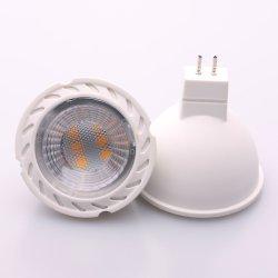 Regulable GU53 GX53 MR11 SMD LED MR16 COB Spotlight lámpara 3W 4W 5W 6W 7W 220V 110V 12V blanco cálido 3000K