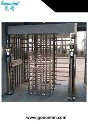 Le contrôle des accès de sécurité Bi Direction automatique une voie pleine hauteur tourniquet porte pivotante