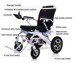 2019 Venta caliente de la luz de aluminio plegable y movilidad de alimentación Batería de litio silla de ruedas eléctrica