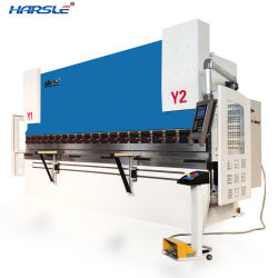 Verbiegende Maschine mit der Kapazität 100t für 10mm*3200mm Blatt-Platte