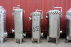 """Chunkeのステンレス鋼SS304 316Lの精密液体ビールワインのミルク10 """" 30inch PP PTFEのマルチカートリッジフィルターハウジング"""