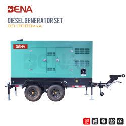 250 ква мобильные звукоизолирующие смонтированные на генератор с дизельных генераторных установках