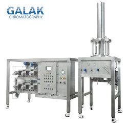La compresión axial dinámica Dac columnas para cromatografía preparativa