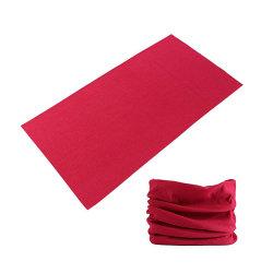 Klassisches Design Rot Blau Lila Einfarbige Paisley Haarband Bandana Schal für Kinder