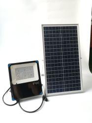 Новейшие хороший дизайн Светодиодный прожектор солнечной энергии на освещение в саду с LiFePO4 панели солнечной батареи