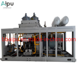Сжатый природный газ Поршневой компрессор для станции заправки газового баллона