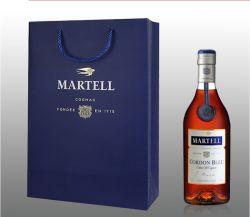 Fabrik produzieren recycelte benutzerdefinierte Wein Kraftpapier Tasche, Geschenktüte für Promotion