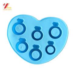 بيع ساخنة شكل ماسي درجة الطعام كعكة قالب حلوى/صينية ثلج لملفات تعريف الارتباط (XY-CM-358)