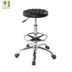 회전 ESD 기능 클린룸 PU 툴 의자(높이 조절 가능