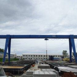 10t起重機の持ち上げ装置の工場ヤードの単一のガードのガントリークレーン