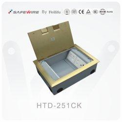 75mm caixa inferior na caixa de saída de tomada de Altura / recipiente de piso / Caixa de alimentação