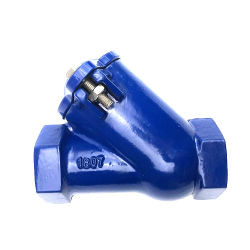 La Chine fournisseur standard DIN3230 PN16 Fonte ductile filetage fin Clapet à bille