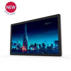 Precio especial de 27 pulgadas con pantalla táctil del sistema operativo Windows en la pared LCD Digital Sinage Reproductor de medios de publicidad todo en un PC
