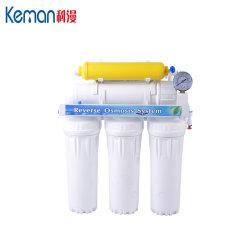 Домашняя чистый 6 стадии фильтр для воды без насоса
