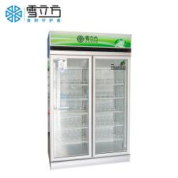 Dispositivo di raffreddamento portatile della bevanda della visualizzazione del supermercato mini