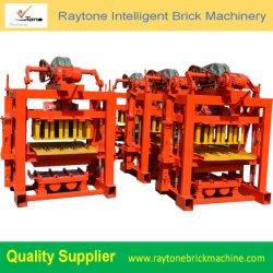 機械に機械装置を作る空の煉瓦をするQt40-2小さい固体コンクリートブロック