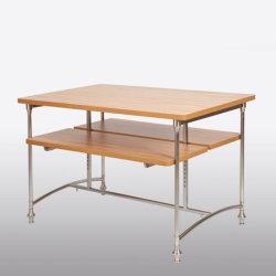 De bonne qualité de vêtements en bois réglable Tableau d'affichage pour les magasins