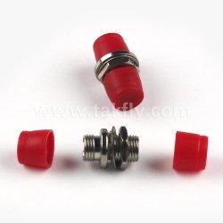 FC UPC APC único modo simplex de vários modos do Acoplador de Fibra Óptica