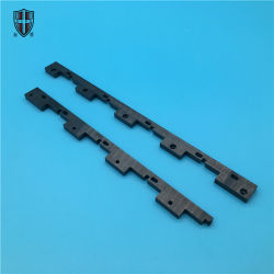 Une endurance élevée Strong noir oxyde de zirconium de bloc céramique de zircone brique