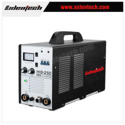 Inversor de CO2/Mag blindado de gas de la máquina de soldadura MIG-250 Soldador portátil